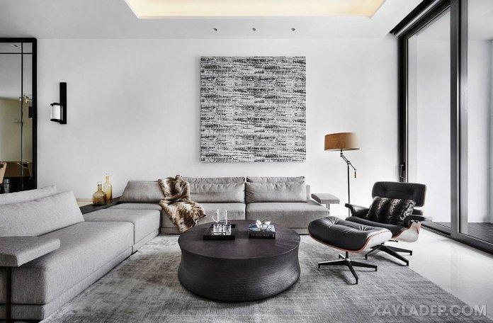 Cách chọn bàn trà sofa phù hợp với phòng khách của bạn cach chon ban tra sofa phong khach 3