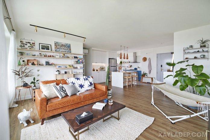 Cách chọn bàn trà sofa phù hợp với phòng khách của bạn cach chon ban tra sofa phong khach 6
