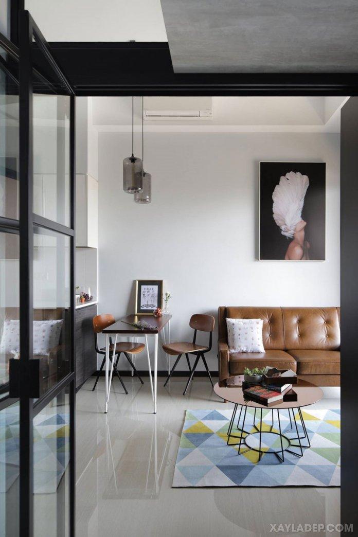 Cách chọn bàn trà sofa phù hợp với phòng khách của bạn cach chon ban tra sofa phong khach 9