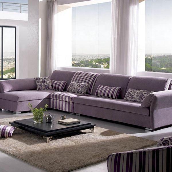 Sofa chữ L giúp tiết kiệm diện tích mà vẫn có thể sử dụng cho nhiều người
