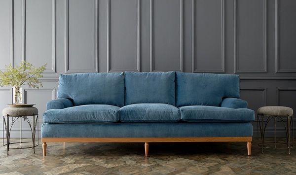 Sofa dài có kích thước gọn nhẹ và linh hoạt