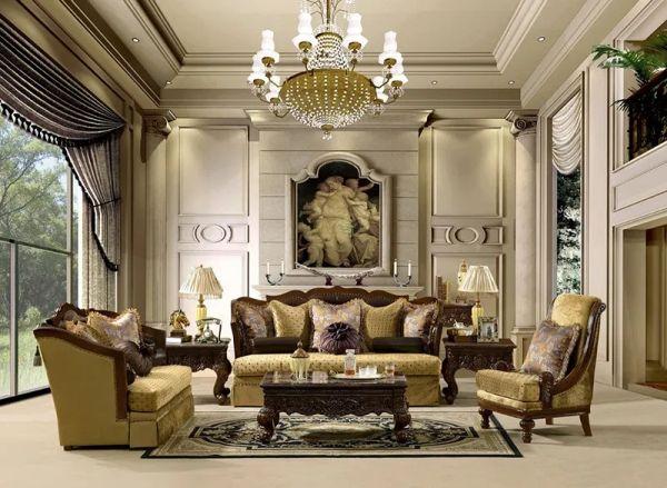Kích thước ghế sofa phù hợp cho phòng khách lớn