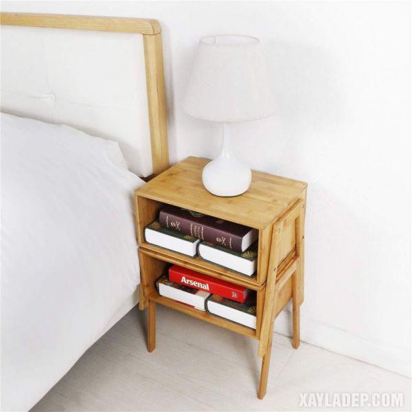 11 Mẫu tủ đầu giường đẹp phong cách mà giá cả phải chăng mau tu dau giuong dep 1