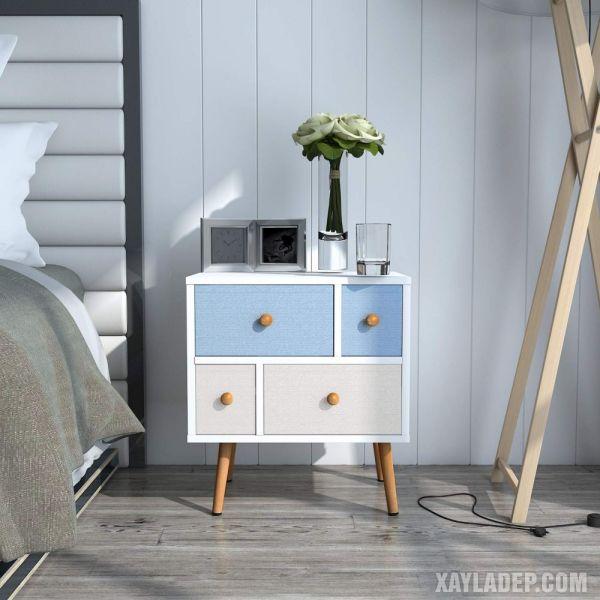 11 Mẫu tủ đầu giường đẹp phong cách mà giá cả phải chăng mau tu dau giuong dep 2