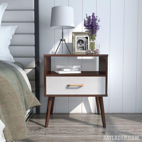 11 Mẫu tủ đầu giường đẹp phong cách mà giá cả phải chăng mau tu dau giuong dep 3
