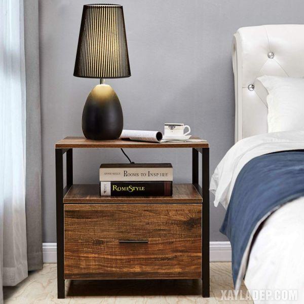 11 Mẫu tủ đầu giường đẹp phong cách mà giá cả phải chăng mau tu dau giuong dep 4