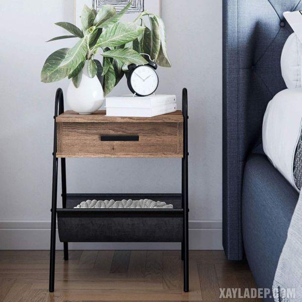 11 Mẫu tủ đầu giường đẹp phong cách mà giá cả phải chăng mau tu dau giuong dep 5