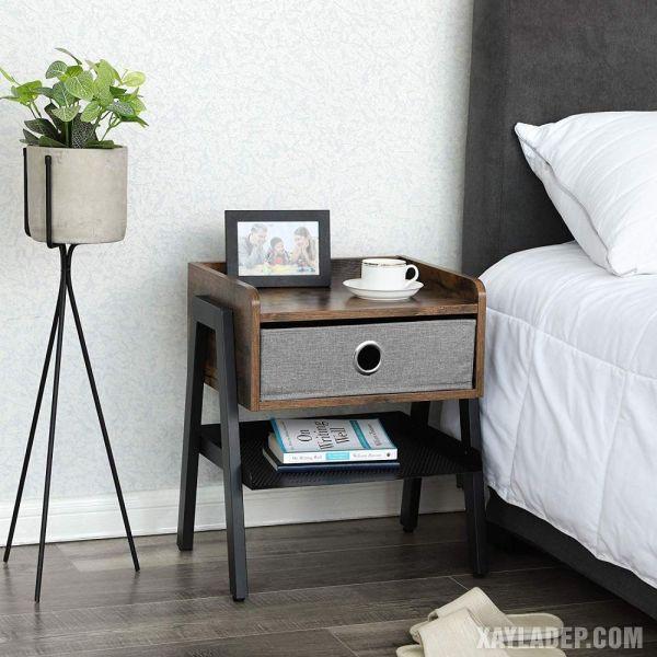 11 Mẫu tủ đầu giường đẹp phong cách mà giá cả phải chăng mau tu dau giuong dep 7