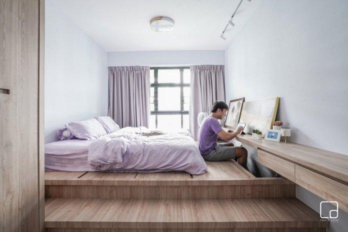 5 mẹo để bố trí phòng làm việc tại nhà trong phòng ngủ của bạn thiet ke phong lam viec tai nha 10