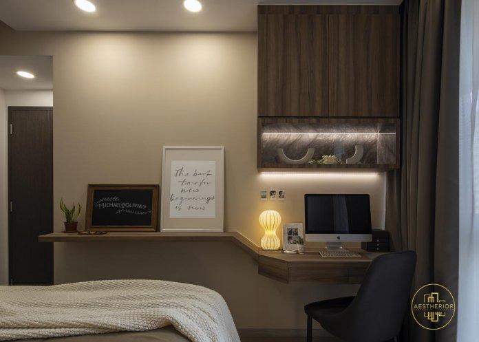 5 mẹo để bố trí phòng làm việc tại nhà trong phòng ngủ của bạn thiet ke phong lam viec tai nha 11
