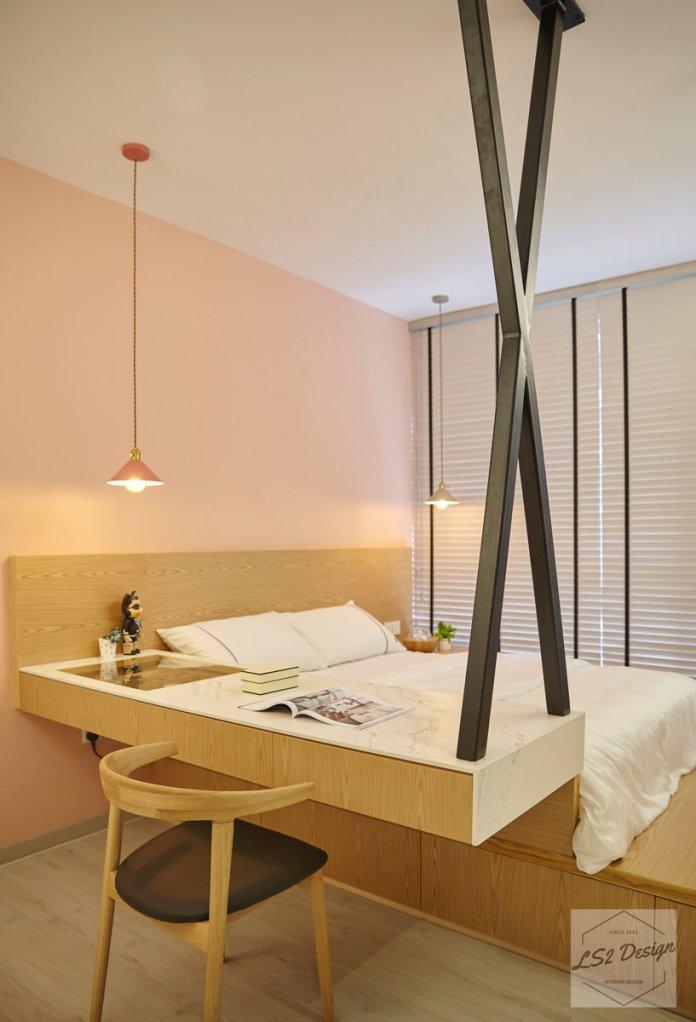 5 mẹo để bố trí phòng làm việc tại nhà trong phòng ngủ của bạn thiet ke phong lam viec tai nha 12