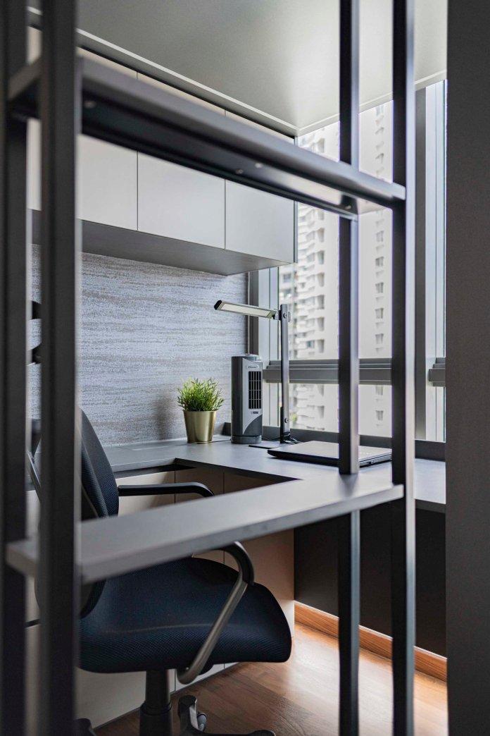 5 mẹo để bố trí phòng làm việc tại nhà trong phòng ngủ của bạn thiet ke phong lam viec tai nha 13