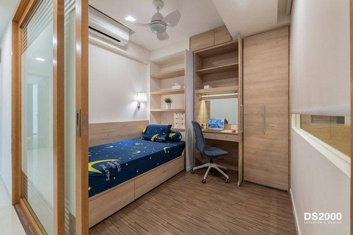 5 mẹo để bố trí phòng làm việc tại nhà trong phòng ngủ của bạn thiet ke phong lam viec tai nha 14