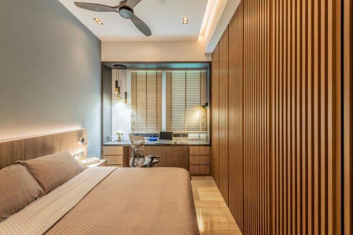 5 mẹo để bố trí phòng làm việc tại nhà trong phòng ngủ của bạn thiet ke phong lam viec tai nha 16