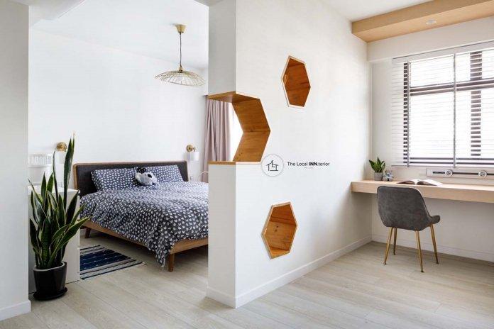 5 mẹo để bố trí phòng làm việc tại nhà trong phòng ngủ của bạn thiet ke phong lam viec tai nha 19