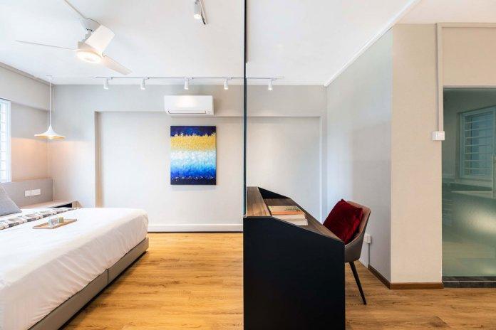 5 mẹo để bố trí phòng làm việc tại nhà trong phòng ngủ của bạn thiet ke phong lam viec tai nha 3
