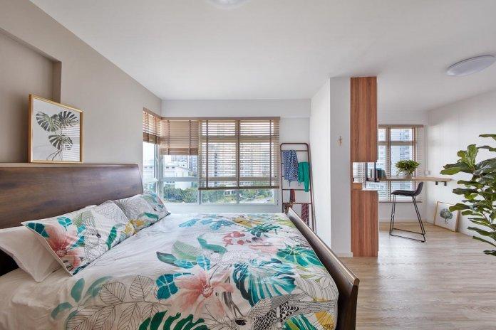 5 mẹo để bố trí phòng làm việc tại nhà trong phòng ngủ của bạn thiet ke phong lam viec tai nha 4