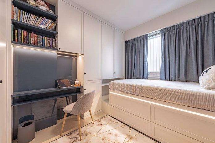 5 mẹo để bố trí phòng làm việc tại nhà trong phòng ngủ của bạn thiet ke phong lam viec tai nha 8
