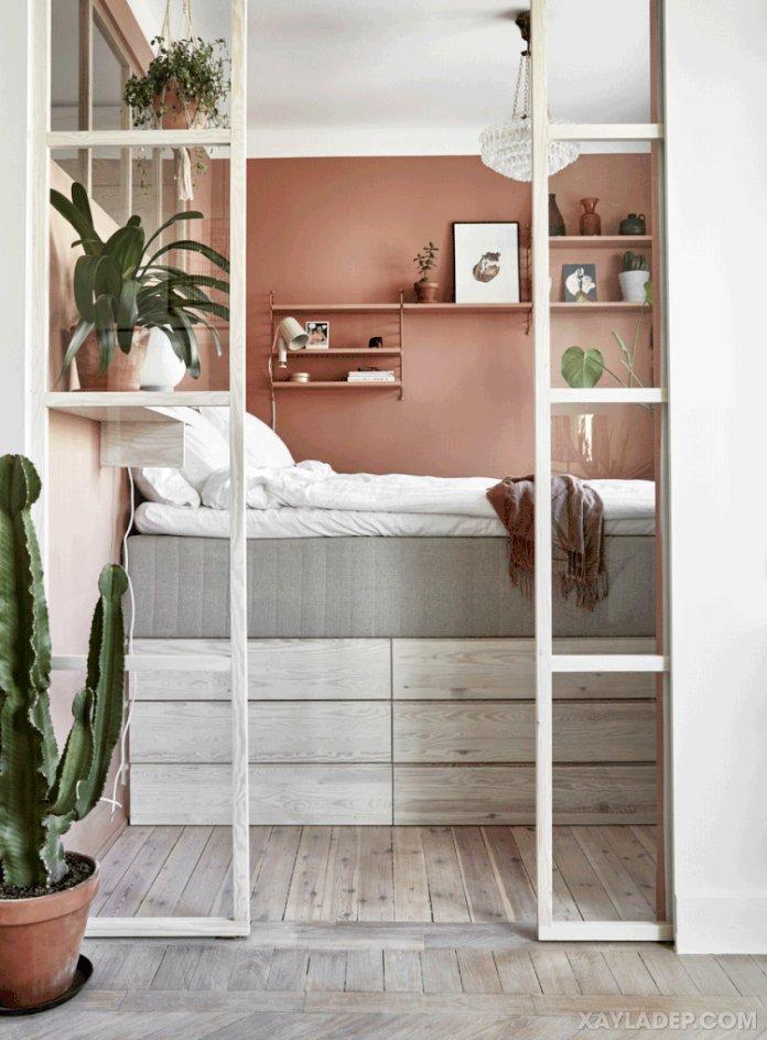 Ý tưởng trang trí phòng ngủ nhỏ cuốn hút mọi ánh mắt trang tri phong ngu nho 1
