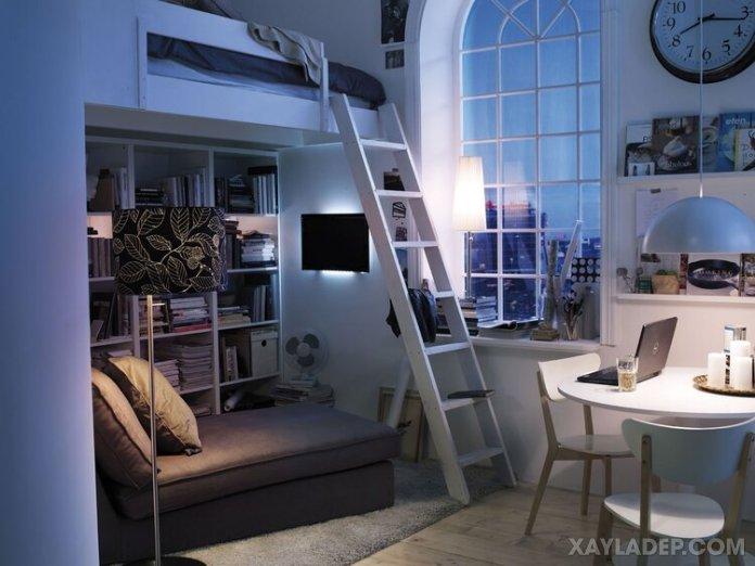 Ý tưởng trang trí phòng ngủ nhỏ cuốn hút mọi ánh mắt trang tri phong ngu nho 10