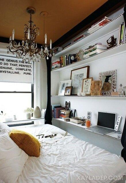 Ý tưởng trang trí phòng ngủ nhỏ cuốn hút mọi ánh mắt trang tri phong ngu nho 13