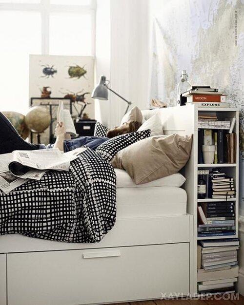 Ý tưởng trang trí phòng ngủ nhỏ cuốn hút mọi ánh mắt trang tri phong ngu nho 18