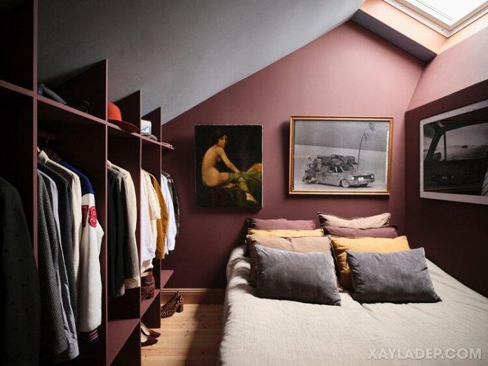 Ý tưởng trang trí phòng ngủ nhỏ cuốn hút mọi ánh mắt trang tri phong ngu nho 20