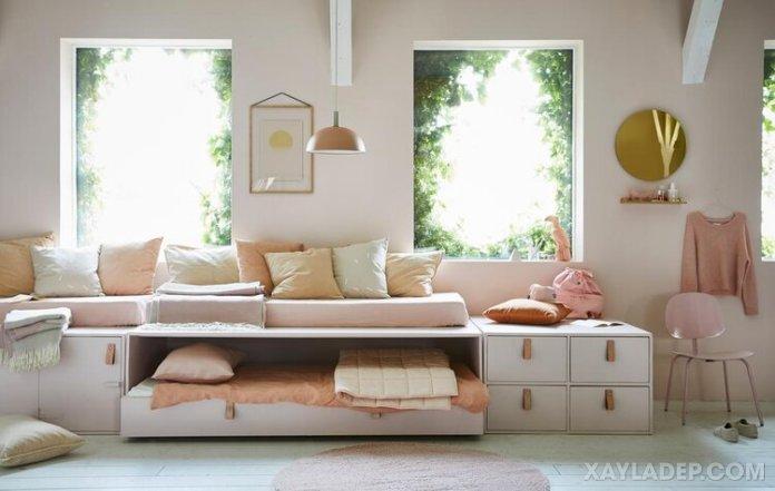Ý tưởng trang trí phòng ngủ nhỏ cuốn hút mọi ánh mắt trang tri phong ngu nho 21