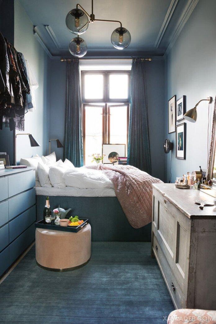 Ý tưởng trang trí phòng ngủ nhỏ cuốn hút mọi ánh mắt trang tri phong ngu nho 23