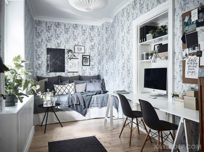 Ý tưởng trang trí phòng ngủ nhỏ cuốn hút mọi ánh mắt trang tri phong ngu nho 24