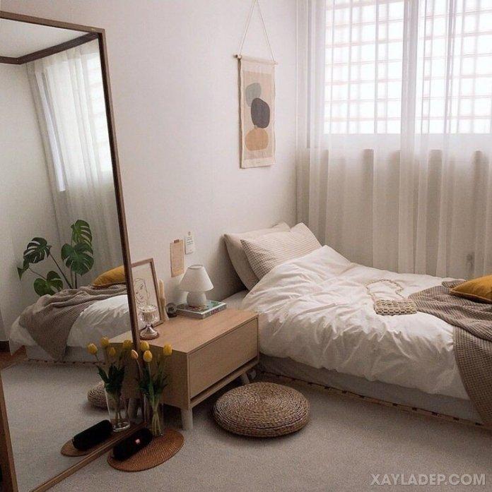 Ý tưởng trang trí phòng ngủ nhỏ cuốn hút mọi ánh mắt trang tri phong ngu nho 28