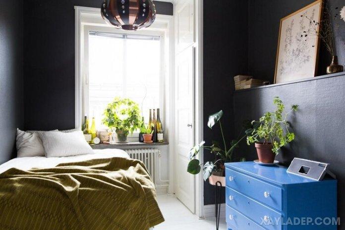 Ý tưởng trang trí phòng ngủ nhỏ cuốn hút mọi ánh mắt trang tri phong ngu nho 29