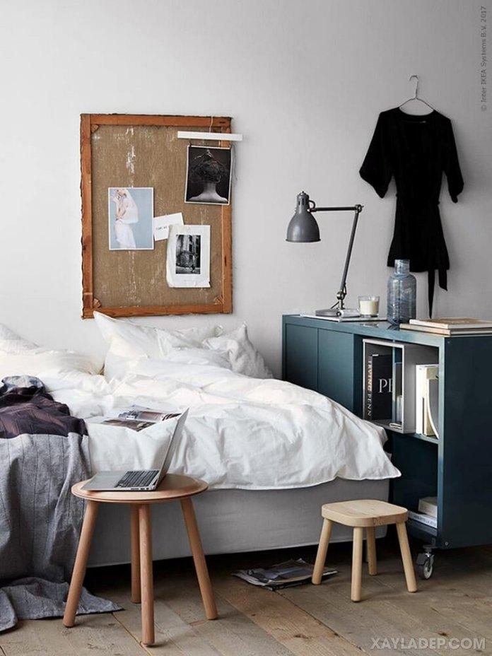 Ý tưởng trang trí phòng ngủ nhỏ cuốn hút mọi ánh mắt trang tri phong ngu nho 3
