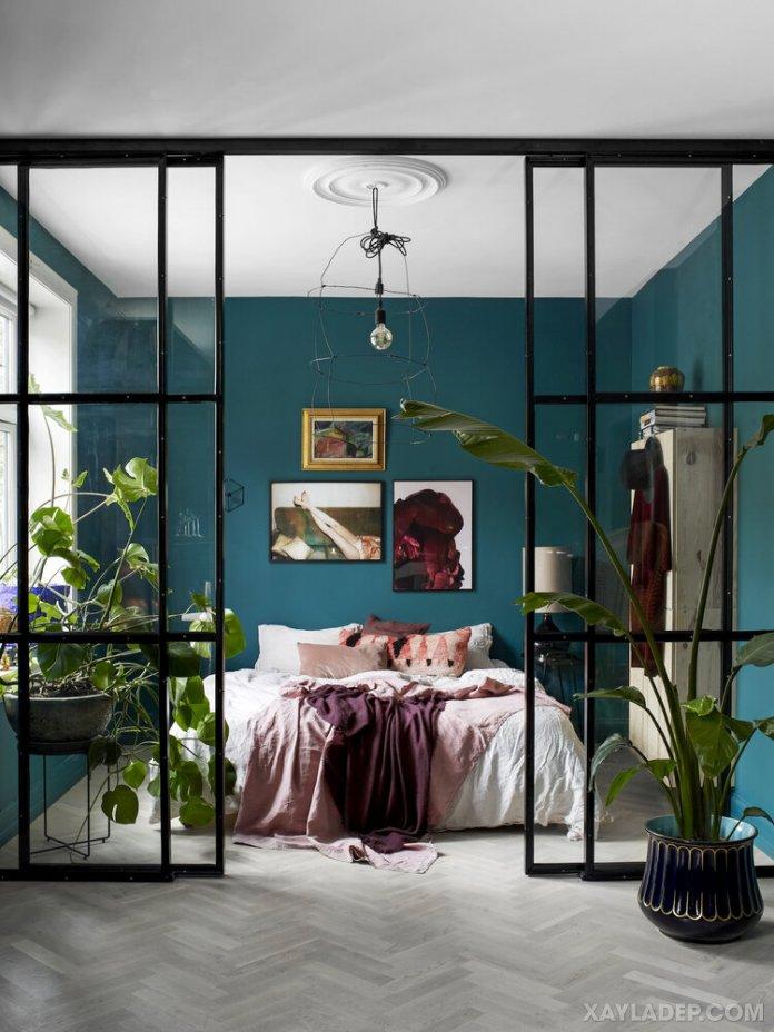 Ý tưởng trang trí phòng ngủ nhỏ cuốn hút mọi ánh mắt trang tri phong ngu nho 30
