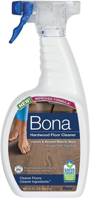 1.2. Nước lau sàn gỗ tự nhiên tốt nhất Bona Hardwood Floor Cleaner