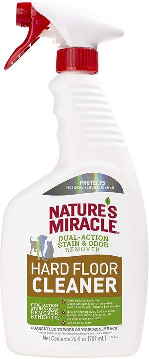 1.6. Tốt nhất cho vật nuôi: Nước lau sàn Nature's Miracle Hard Floor Cleaner