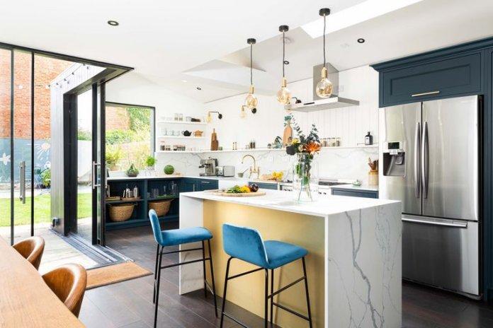 Căn hộ của một nhà thiết kế nội thất: Ngôi nhà tại London khoác áo mới sau 60 năm cai tao can ho tai london 2