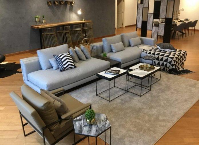 Ghế sofa Malaysia. Ảnh Moods Design