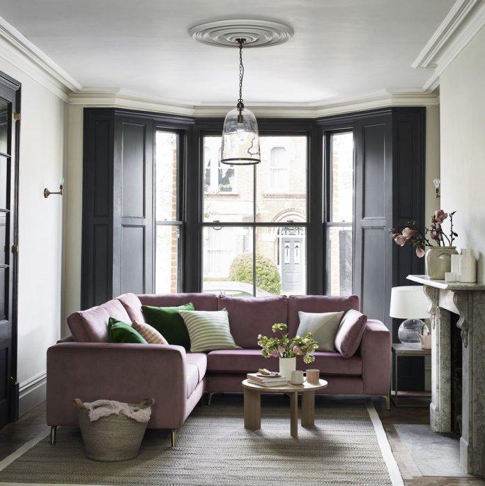 ghế sofa Darcy từ bộ sưu tập House Beautiful