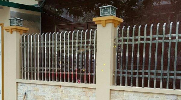 mẫu hàng rào inox 304 đẹp