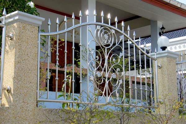 hàng rào inox nghệ thuật