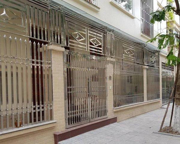 hàng rào inox chống trộm