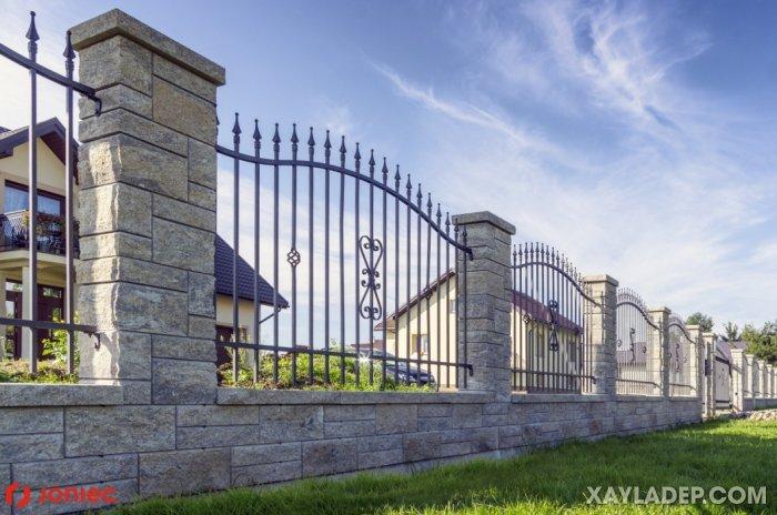 10   mẫu hàng rào sắt đặc