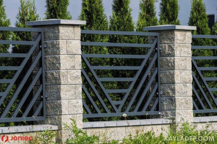 12   thiết kế hàng rào sắt hộp 20x40