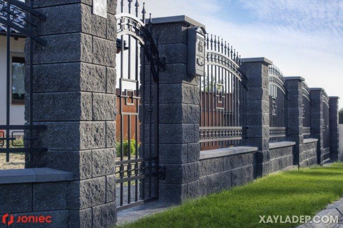 15   mẫu tường rào đẹp 2020