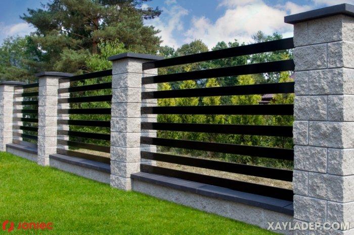 2  mẫu hàng rào sắt đẹp 2020