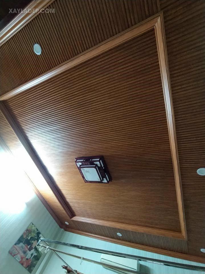 Mẫu trần nhựa phòng ngủ thiết kế hiện đại