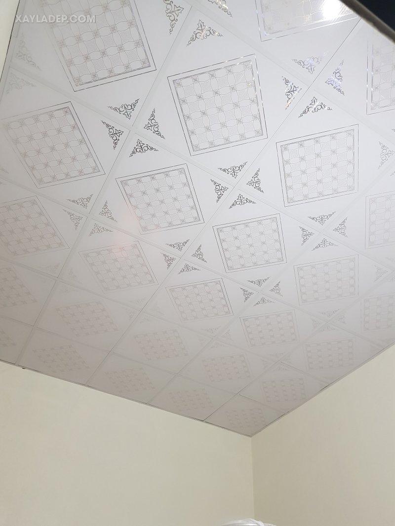 Danh sách 60 mẫu trần nhựa giả gỗ và trần nhựa thả đẹp nhất 2021 mau tran nhua tha dep 20