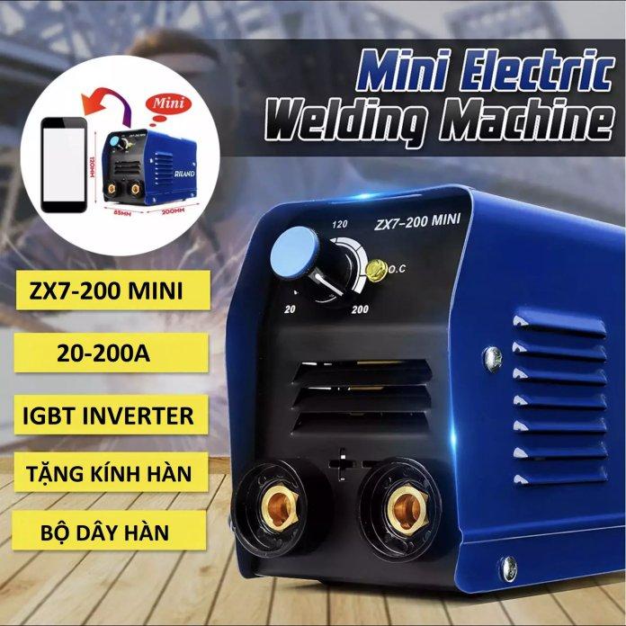 Máy hàn mini Riland zx7-200 mini