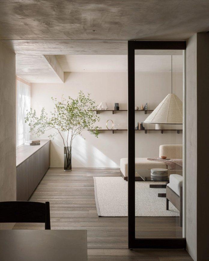 10 Phòng khách trang nhã với nội thất Nhật Bản kết hợp Scandinavia phong khach theo phong cach noi that nhat ban 2